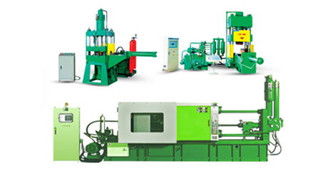 machine used in manufacturing of rotor die casting